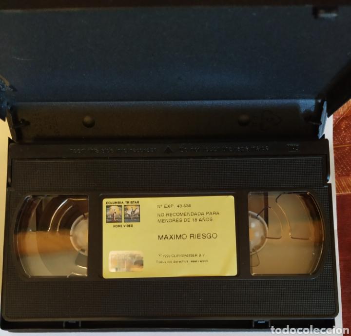 Cine: VHS Máximo Riesgo (1993) Sylvester Stallone - Foto 3 - 164528185