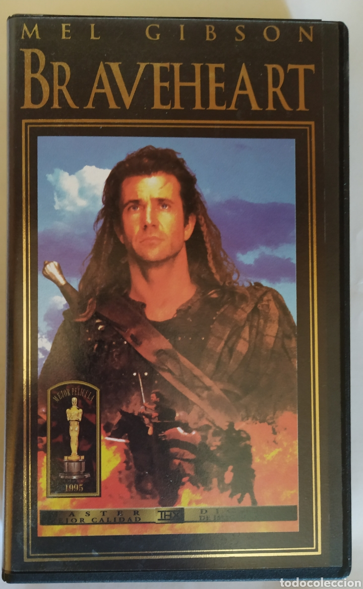 Vhs Braveheart 1995 Mel Gibson Buy Vhs Movies At Todocoleccion 164529048
