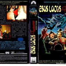 Cine - VHS - ESTOS LOCOS FANTASMAS / GHOST FEVER - DESCATALOGADA UNICA EN TC - 164607558