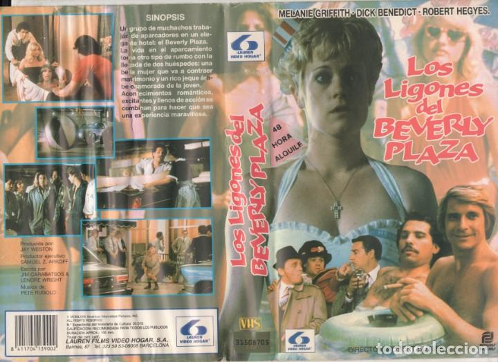 Cine: VHS - LOS LIGONES DE BEVERLY PLAZA - MELANIE GRIFFITH - TEEN MOVIE - DESCATALOGADA - Foto 1 - 164620330