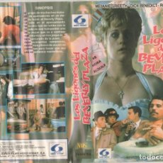Cine: VHS - LOS LIGONES DE BEVERLY PLAZA - MELANIE GRIFFITH - TEEN MOVIE - DESCATALOGADA. Lote 164620330