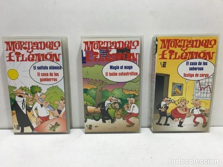 Cine: LOTE 5 VHS MORTADELO Y FILEMON - Foto 2 - 164635446