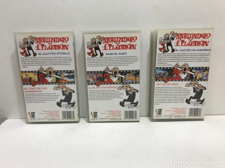 Cine: LOTE 5 VHS MORTADELO Y FILEMON - Foto 4 - 164635446
