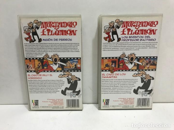 Cine: LOTE 5 VHS MORTADELO Y FILEMON - Foto 5 - 164635446