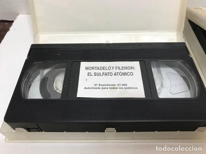 Cine: LOTE 5 VHS MORTADELO Y FILEMON - Foto 6 - 164635446