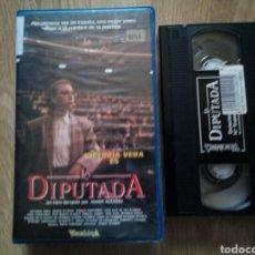 Cine: LA DIPUTADA VHS VICTORIA VERA, JAVIER AGUIRRE ( ÚNICA EN TC ). Lote 164701894