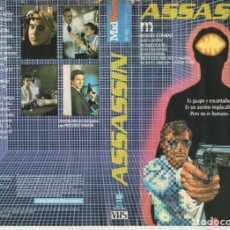Cine: VHS - ASSASSIN - ROBERT CONRAD - SCFI. Lote 164742454