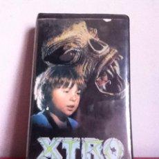 Cine: VHS. XTRO. 1 ED. VIDEOCLUB. CAJA GRANDE. Lote 164776928