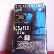 Cine: VHS. DESAFÍO TOTAL. 1 ED. VIDEOCLUB. CAJA GRANDE. Lote 164777190