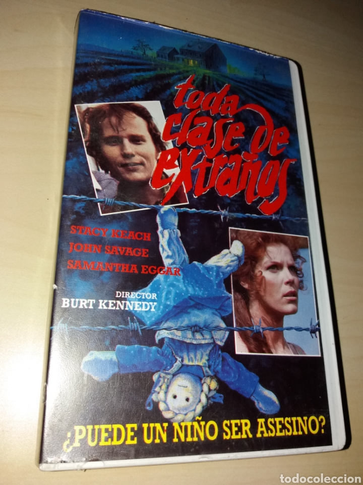 VHS TODA CLASE DE EXTRAÑOS (Cine - Películas - VHS)