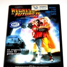 Cine: REGRESO AL FUTURO II (PARTE 2) (1989) - ROBERT ZEMECKIS MICHAEL J. FOX CHRISTOPHER LLOYD VHS 1ª ED.. Lote 164871821