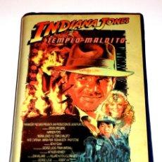 Cine: INDIANA JONES Y EL TEMPLO MALDITO (1984) - STEVEN SPIELBERG HARRISON FORD KATE CAPSHAW VHS 1ª EDIC.. Lote 164872738