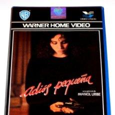 Cine: ADIOS PEQUEÑA (1986) - IMANOL URIBE ANA BELEN FABIO TESTI MARCEL BOZZUFFI VHS DIFICIL DE CONSEGUIR. Lote 164873282