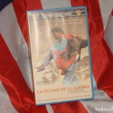 Cine: LA CIUDAD DE LA ALEGRIA - WARNER HOME VIDEO - CAJA AZUL - . Lote 165116122