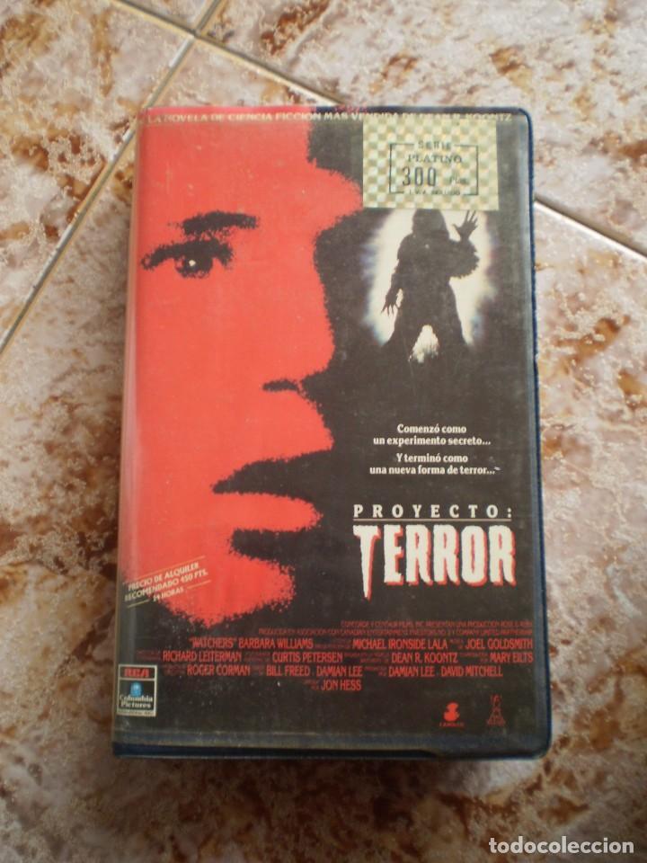 VHS TERROR. PROYECTO TERROR. (Cine - Películas - VHS)
