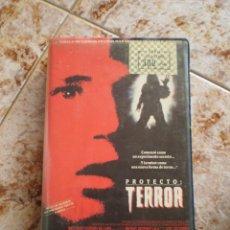 Cine: VHS TERROR. PROYECTO TERROR.. Lote 165154926
