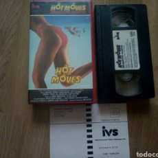 Cine: HOT MOVES, MOVIMIENTOS CALIENTES VHS TEEN COMEDY. Lote 165190492