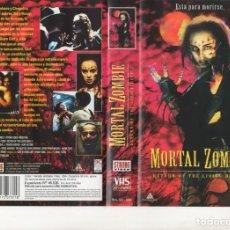 Cine: VHS - MORTAL ZOMBIE - GORE. Lote 165226782