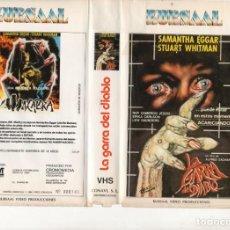 Cine: VHS - LA GARRA DEL DIABLO - ALFREDO ZACARIAS. Lote 165247070