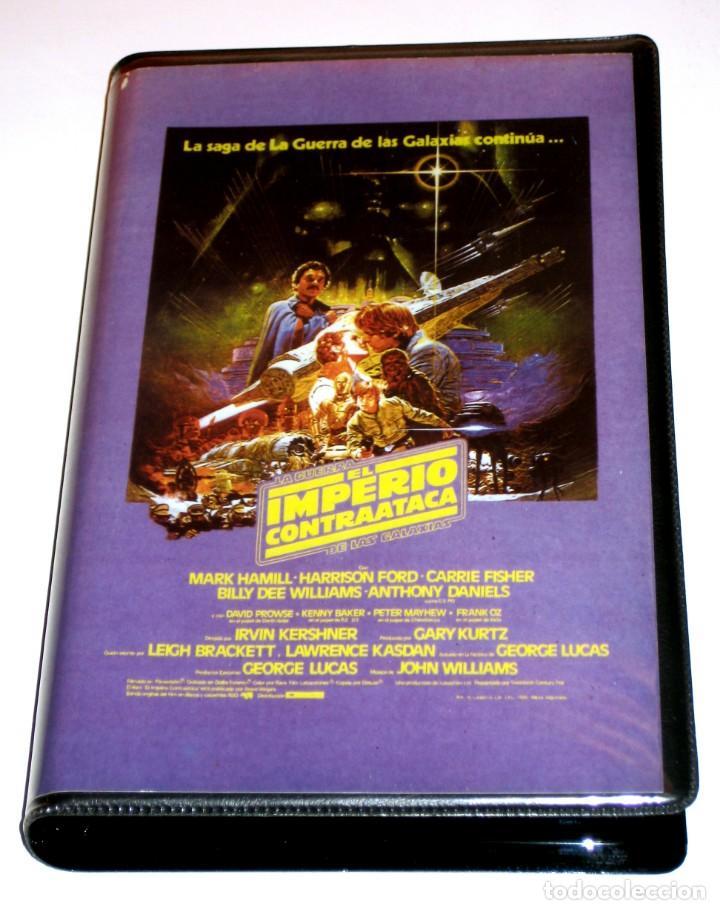 EL IMPERIO CONTRAATACA (1980) - IRVIN KERSHNER MARK HAMILL HARRISON FORD VHS EDICIÓN PIRATA (Cine - Películas - VHS)