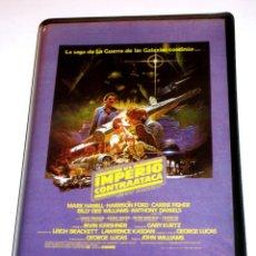 Cine: EL IMPERIO CONTRAATACA (1980) - IRVIN KERSHNER MARK HAMILL HARRISON FORD VHS EDICIÓN PIRATA. Lote 165273970