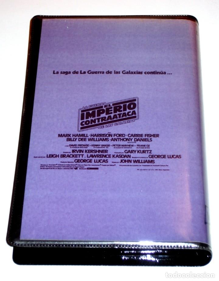 Cine: El Imperio Contraataca (1980) - Irvin Kershner Mark Hamill Harrison Ford VHS EDICIÓN PIRATA - Foto 2 - 165273970