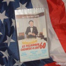 Cine: ES PELIGROSO CASARSE A LOS 60 - FILMAYER VIDEO - . Lote 165290406