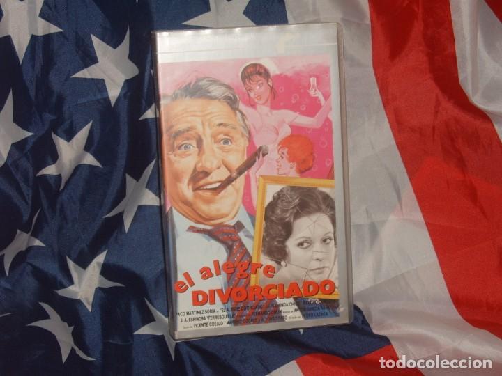 EL ALEGRE DIVORCIADO - FILMAYER VIDEO - (Cine - Películas - VHS)