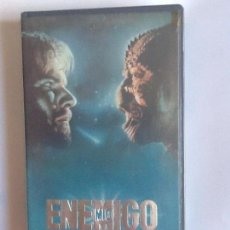 Cine: PELÍCULA VHS. ENEMIGO MIO, DENNIS QUAID, LOUIS GOSSETT,JR. . Lote 165403854