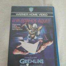 Cine: CINE -VHS-GREMLINS-¡YA ESTAMOS AQUÍ!-PRIMERA EDICIÓN, 1984. Lote 165415214