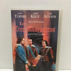 Cine: VHS LOS 3 MOSQUETEROS. Lote 165690082