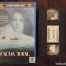 Cine: CALMA TOTAL - PHILLIP NOYCE - SAM NEILL , NICOLE KIDMAN - WARNER 1989. Lote 165771742