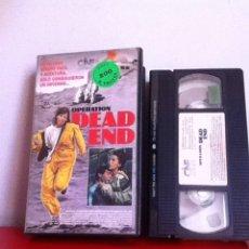 Cine: VHS. OPERATION DEAD END. VIDEOCLUB. Lote 166008852