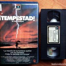 Cine: TEMPESTAD - PAUL MAZURSKY, JOHN CASSAVETES, GENA ROWLANDS. Lote 166133946