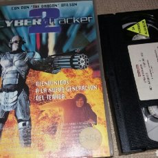 Cine: CYBER TRACKER 2 - VHS- DON DRAGON WILSON. Lote 166205532