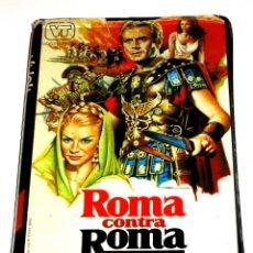 Cine: ROMA CONTRA ROMA (AKA WAR OF THE ZOMBIES) (1964) - GIUSEPPE VARI JOHN DREW BARRYMORE VHS ÚNICA. Lote 127141651