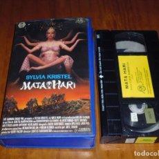 Cine: SYLVIA KRISTEL . MATA HARI . VHS - PEDIDO MINIMO 6 EUROS. Lote 166245566