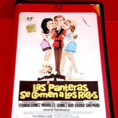 Cine: LAS PANTERAS SE COMEN A LOS RICOS (1969) - FERNANDO FERNAN GOMEZ- JOSE FRADE- MUY ESCASA. Lote 166292010