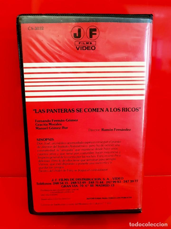 Cine: LAS PANTERAS SE COMEN A LOS RICOS (1969) - Fernando Fernan Gomez- Jose Frade- MUY ESCASA - Foto 3 - 166292010