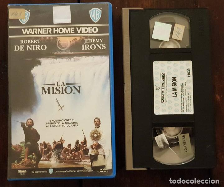 LA MISION - RONALD JOFFE - ROBERT DE NIRO , JEREMY IRONS - WARNER 1987 (Cine - Películas - VHS)