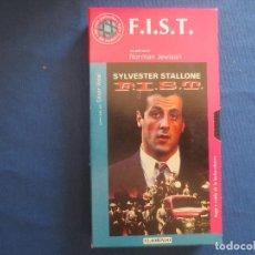 Cine: VHS 54 - F.I.S.T. SÍMBOLO DE FUERZA UNA PELÍCULA DE NORMAN JEWISON CON SYLVESTER STALLONE. Lote 167174136