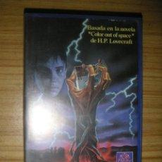 Cine: GRANJA MALDITA (1987) VHS - TERROR - LOVECRAFT. Lote 167176680