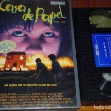 Cine - CASA DE PAPEL -BERNARD ROSE - TERROR - FANTASIA - VHS - 167226252
