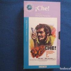 Cine: VHS 69 - ¡CHE! UNA PELÍCULA DE RICHARD FLEISCHER CON OMAR SHARIF Y JACK PALANCE. Lote 167261208