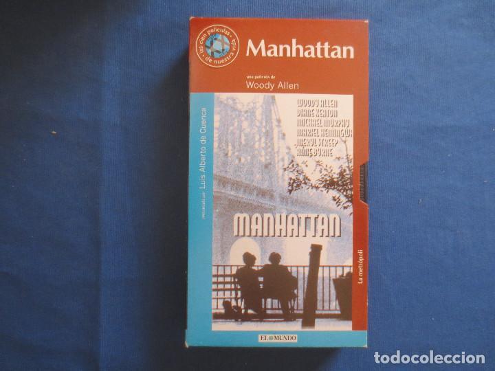 VHS 107 - MANHATTAN UNA PELÍCULA DE WOODY ALLEN CON DIANE KEATON Y MERYL STREEP (Cine - Películas - VHS)