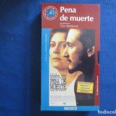 Cine: VHS 113 - PENA DE MUERTE UNA PELÍCULA DE TIM ROBBINS CON SUSAN SARANDON Y SEAN PENN. Lote 167327456