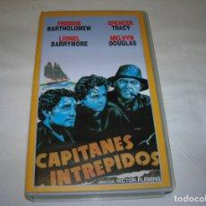Cine: PELICULA CAPITANES INTREPIDOS EDICION EN VIDEO GRABACION DE TV. Lote 167546004