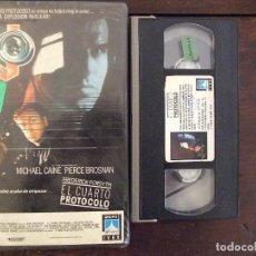 Cine: EL CUARTO PROTOCOLO - JOHN MACKENZIE - MICHAEL CAINE , PIERCE BROSNAN - IVEX 1988. Lote 167661312