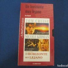 Cine: VHS 69 - UN HORIZONTE MUY LEJANO UNA PELÍCULA DE RON HOWARD CON NICOLE KIDMAN. Lote 167780228