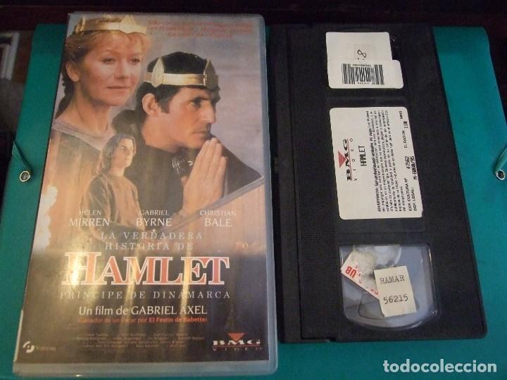 HAMLET EL PRINCIPE DE DINAMARCA - GABRIEL AXEL - CHRISTIAN BALE , GABRIEL BYRNE - BMG 1995 (Cine - Películas - VHS)